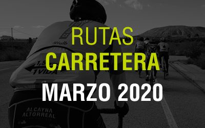 Rutas Carretera Marzo 2020