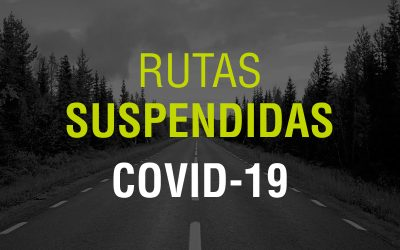 Rutas suspendidas / COVID-19