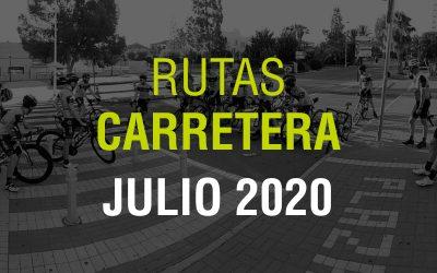 Rutas Carretera Julio 2020