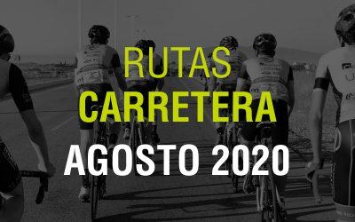 Rutas Carretera Agosto 2020