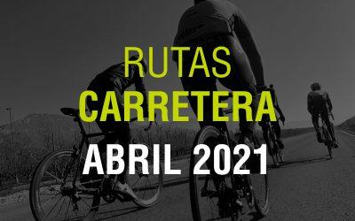 Rutas Carretera Abril 2021