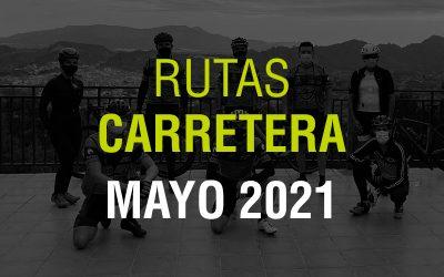 Rutas Carretera Mayo 2021