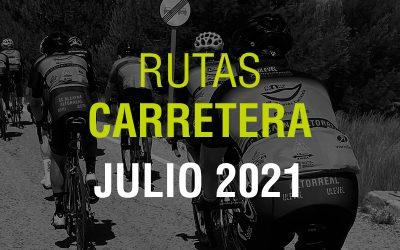 Rutas Carretera Julio 2021