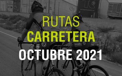 Rutas Carretera Octubre 2021